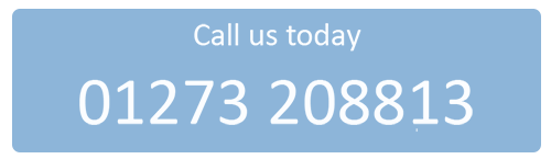 Call us today on 01273 208813