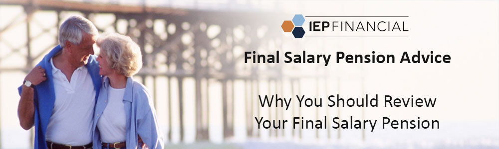 final salary pension advice